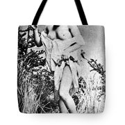 Nude In Wilderness Tote Bag