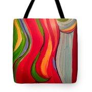 Nude Lines Tote Bag