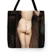 Nude Model Tote Bag