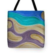 Nude On Beach Tote Bag