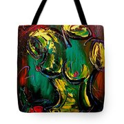 Nude Painting Tote Bag