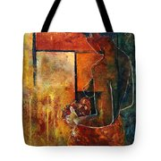 Nude  Tote Bag by Pol Ledent