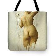 Nude. Queen Rodophe Tote Bag