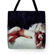 Nude Study Tote Bag by Sir William Orpen