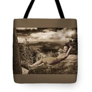 Nude Sunbather Tote Bag