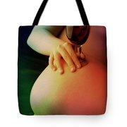 Nude Wine Tote Bag