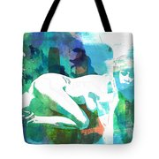 Nude Woman Painting Photographic Print 0031.02 Tote Bag
