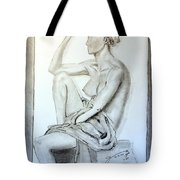 Nude Woman Viii Tote Bag