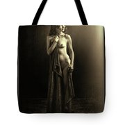 Nude Young Woman 1718.501 Tote Bag