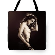 Nude Young Woman 1718.504 Tote Bag
