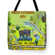 Nueces Watershed Area Tote Bag