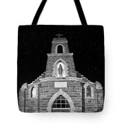 Nuestra Senora De Refugio, Illuminated By The Moon And Yard Lig Tote Bag