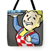 Nuka Boy Tote Bag by Luis Pangilinan