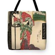 Numazu Senju Of The Sakaya 1823 Tote Bag