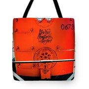 Number 0673 Train Tote Bag
