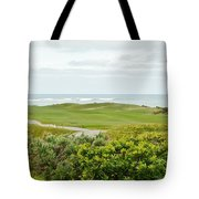 Number 1 From The Whites At Spanish Bay Tote Bag