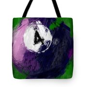 Number Four Billiards Ball Abstract Tote Bag