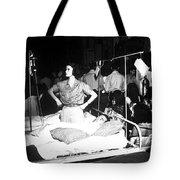 Nurse Adjusts Glucose Injection Tote Bag by Stocktrek Images