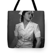 Nurse Rembrandt Lighting Tote Bag