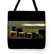 Nursery Wagons Tote Bag