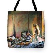 Nurses Are Heroes To Heroes Tote Bag
