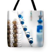 Nutritional Supplement Capsules Tote Bag