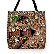 Nuts And Bolts Rusted Tote Bag