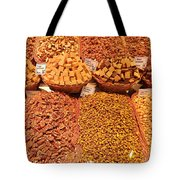 Nuts And Candy Tote Bag