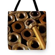 Nuts And Screw Tote Bag