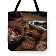Nuts And Spices Series - Five Of Six Tote Bag