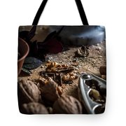 Nuts And Spices Series - One Of Six Tote Bag