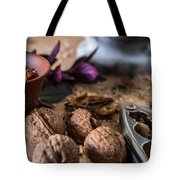 Nuts And Spices Series - Six Of Six Tote Bag