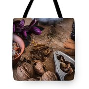 Nuts And Spices Series - Three Of Six Tote Bag