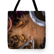 Nuts And Spices Series - Two Of Six Tote Bag