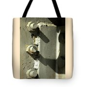 Nuts Bolts And Shadows Tote Bag