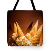 Nuts Over Ice-cream. Birthday Party Background Tote Bag