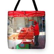Nuts Seller Tote Bag