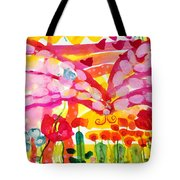 Nutterbutterfly Tote Bag