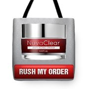 Nuvaclear Cream Tote Bag