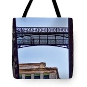 Ny Architecture Connection  Tote Bag