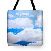 Ny Clouds Tote Bag