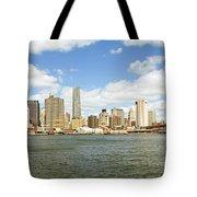 Ny East River Tote Bag