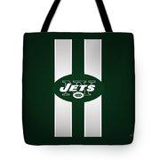 Ny Jets Football Tote Bag