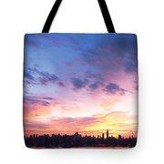 Ny Skyline Dawn Delight Tote Bag