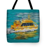 Ny Water Taxi Tote Bag