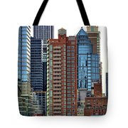 Nyc Architecture Buildings Tall  Tote Bag