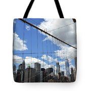 Nyc Catch Me If You Can Tote Bag
