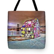 Nyc Color  Tote Bag