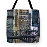 Nyc Crossings Daily Life Children  Tote Bag