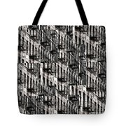 Nyc Fire Escapes Tote Bag